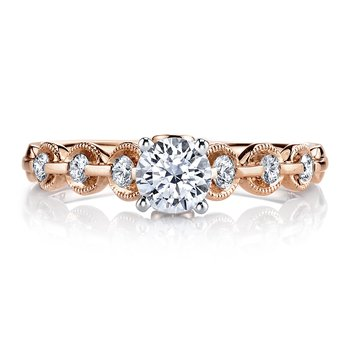 MARS 25807 Diamond Engagement Ring 0.25 ct tw