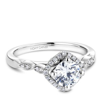 Noam Carver Vintage Engagement Ring B084-01A