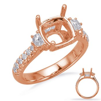 Rose Gold Engagement Ring