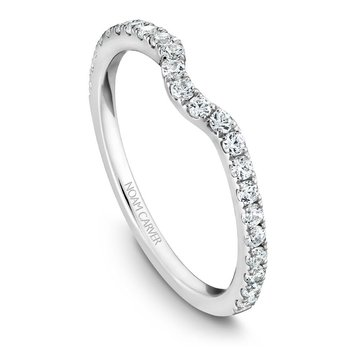 Noam Carver Wedding Band B007-01B