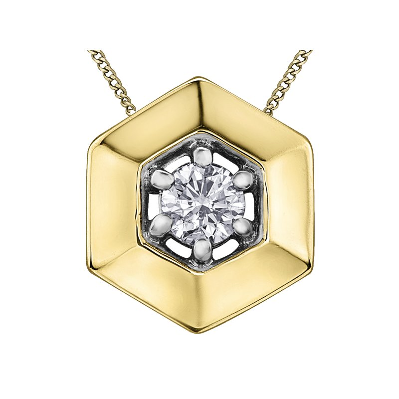 Lasting Treasures™ Diamond Solitaire Pendant