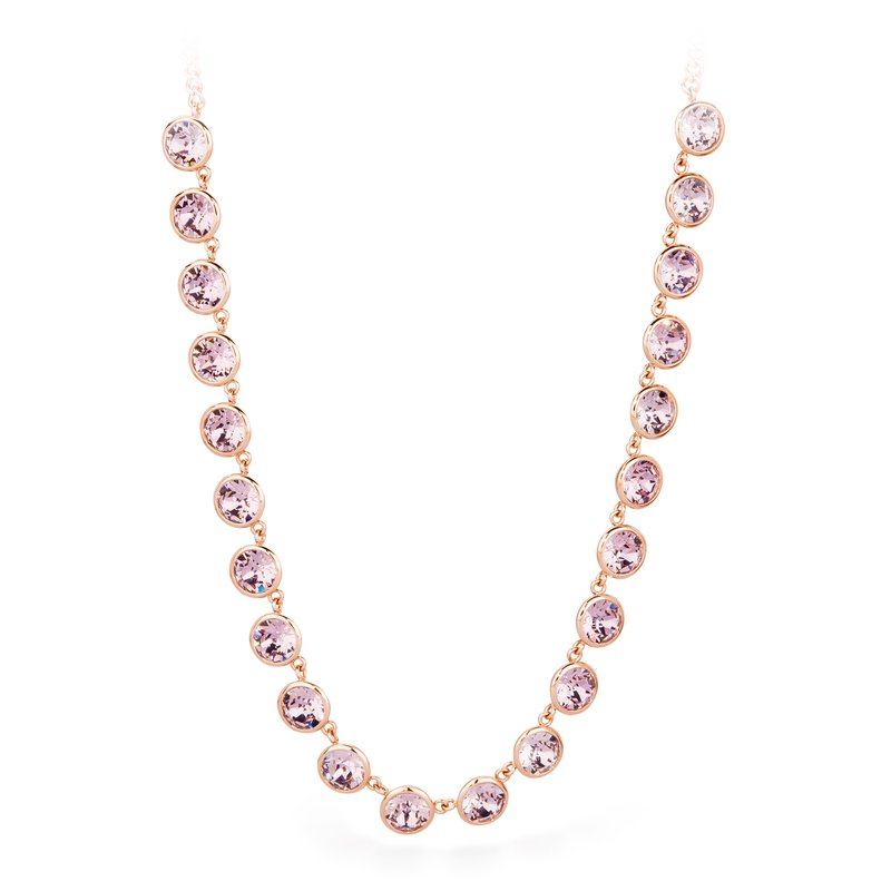 Brosway 316L stainless steel and antique pink Swarovski® Elements