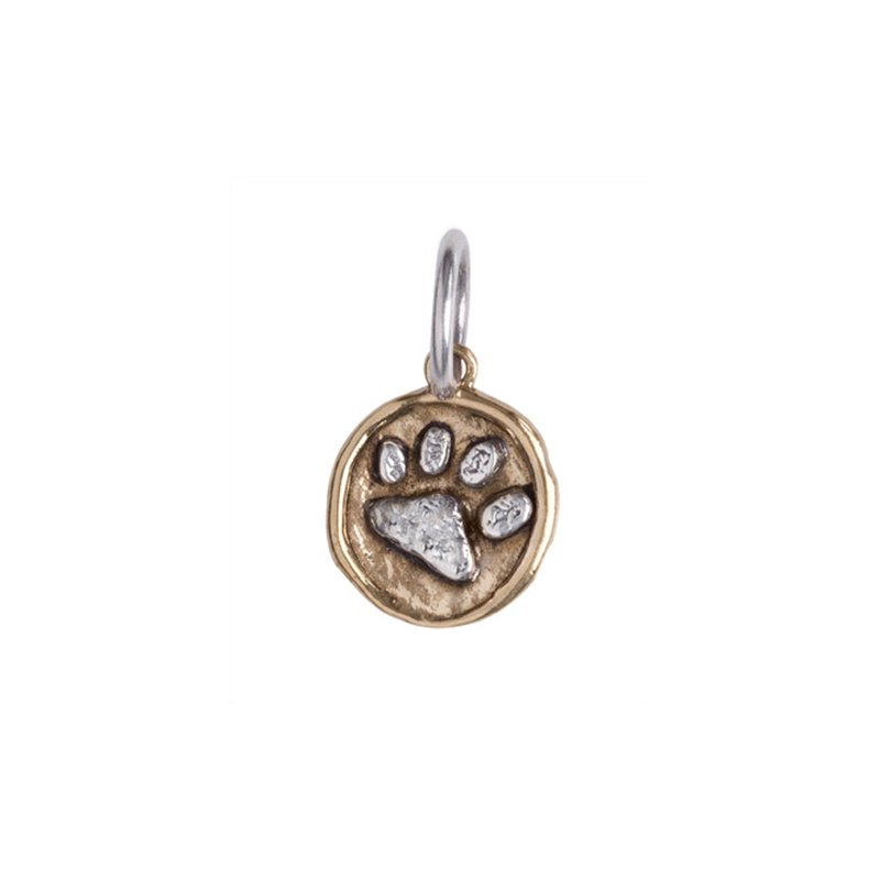 Waxing Poetic Camp Charm - Paw