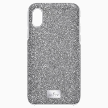 High Smartphone Case with integrated Bumper, iPhone® X/XS, Gray