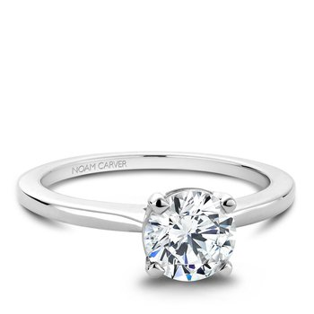 Noam Carver Modern Engagement Ring B018-01A