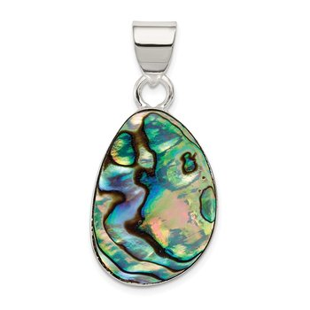 Sterling Silver Abalone Pendant