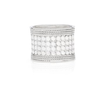 Classic Band Ring - Silver