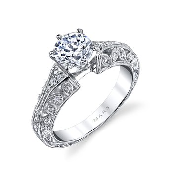 MARS 25777 Diamond Engagement Ring, 0.16 Ctw.