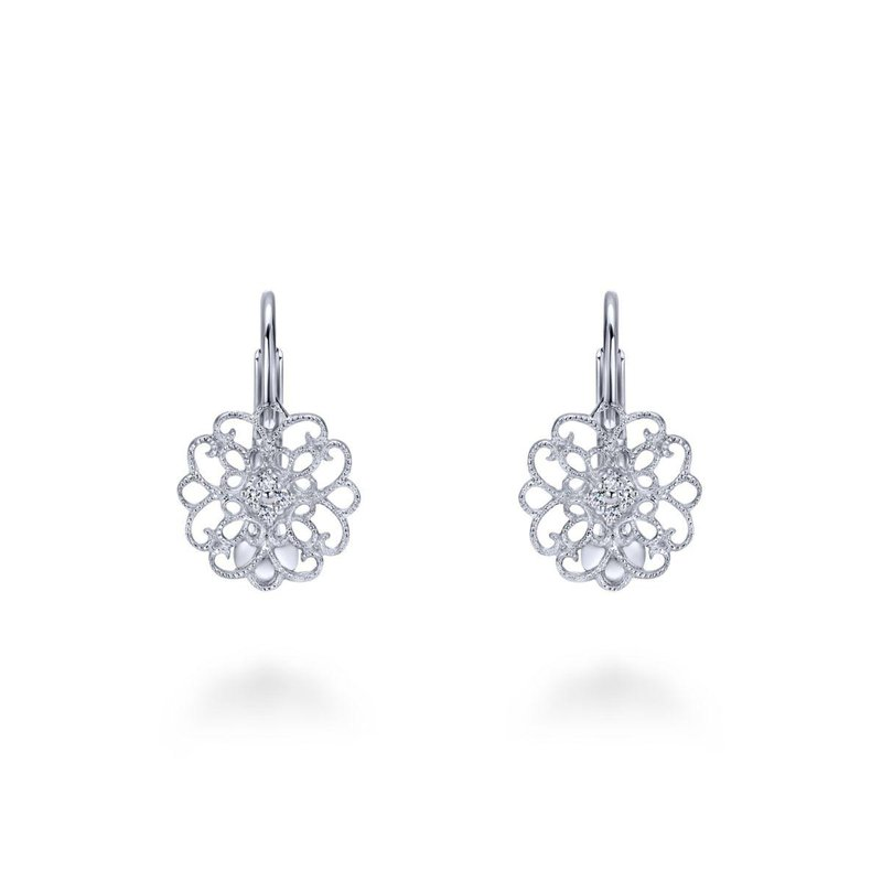 Gabriel Fashion 925 Silver WS Earrings