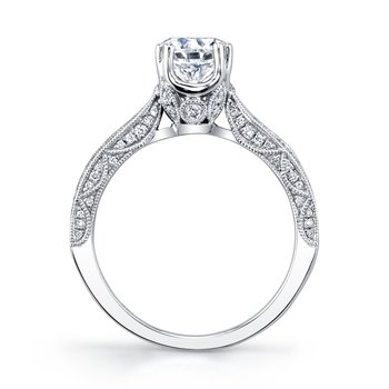 MARS 27187 Diamond Engagement Ring, 0.30 Ctw.