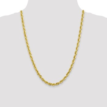 Leslie's 10K 5.5mm Diamond-Cut Rope Chain