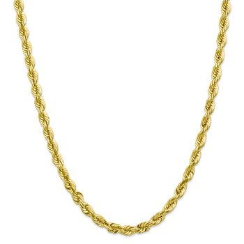 Leslie's 10K 5.50mm Diamond-Cut Rope Chain