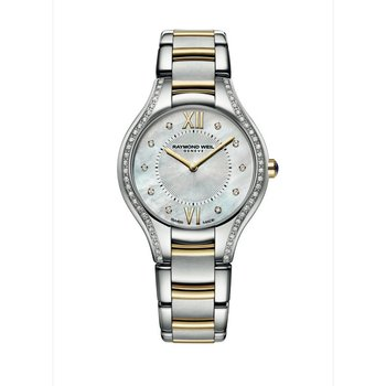 Ladies Quartz Watch, 32 mm Two-tone 62 diamonds