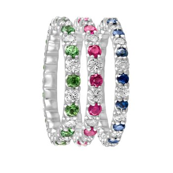 Color and Diamond Eternity