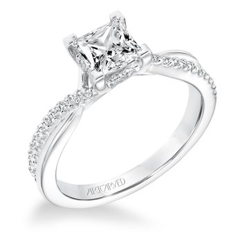 ArtCarved Tate Diamond Engagement Mounting