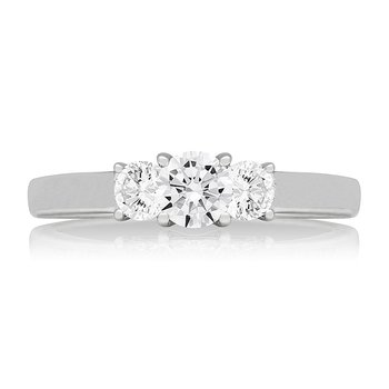 WS - The Farrah Three Stone Ring