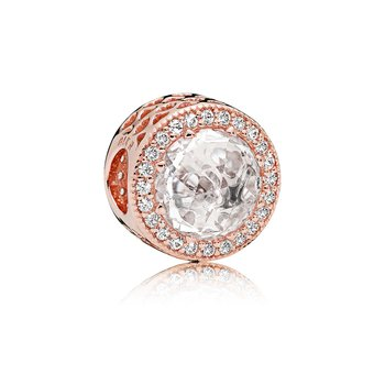 Radiant Hearts, Pandora Rose™ Clear Cz