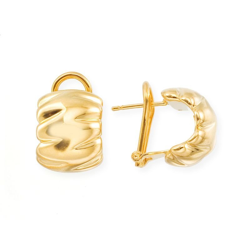 Roberto Coin 18Kt Gold Shrimp Earrings