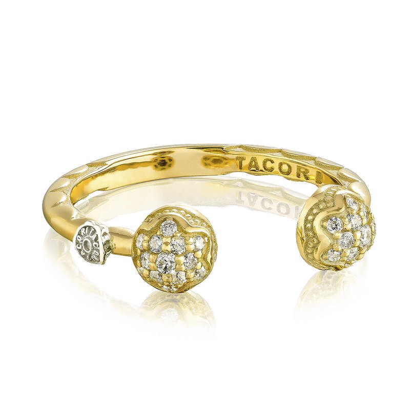 Tacori Fashion Twin Dew Drop Ring
