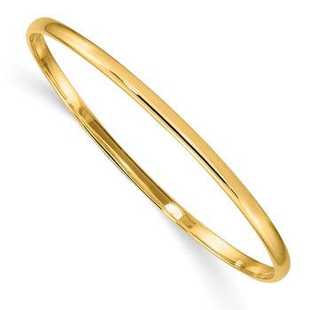 14k Slip-on Baby Bangle Bracelet