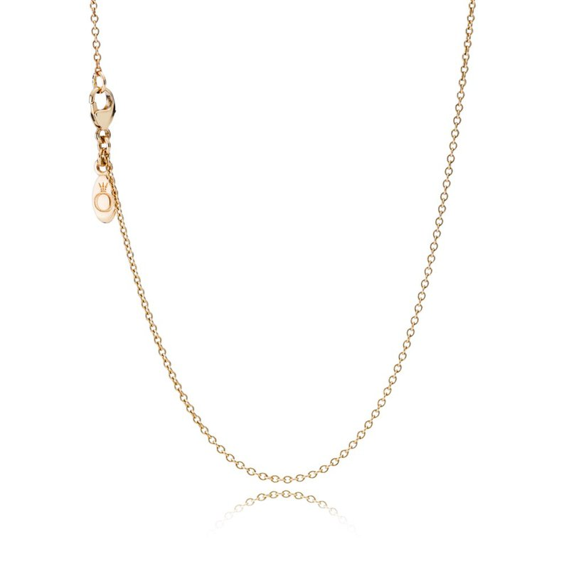 PANDORA Necklace Chain, 14K Gold