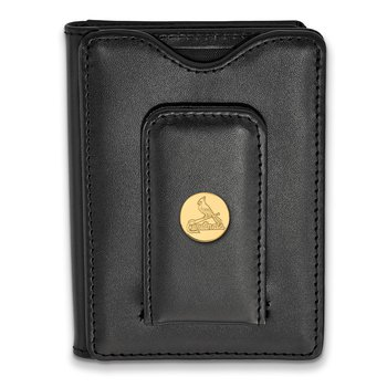 Gold-Plated Sterling Silver St. Louis Cardinals MLB Wallet