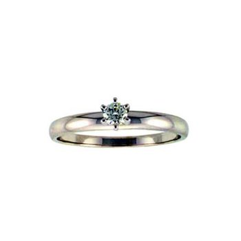 14KT Gold Solitaire Ring