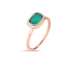 Roberto Coin 18Kt Gold Ring With Agate