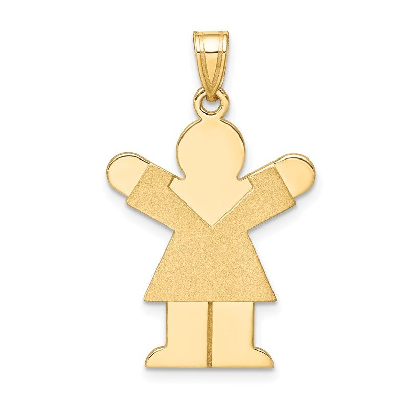Lester Martin Online Collection 14k Girl Charm
