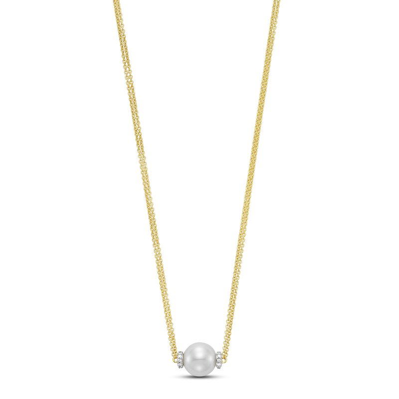Mastoloni Pearls Station Necklace