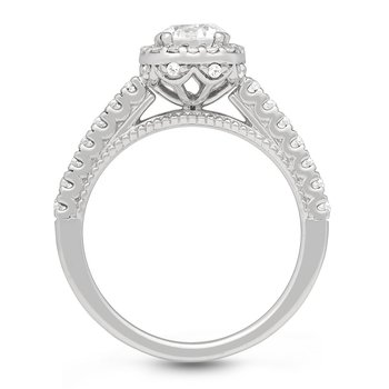 The Valentina Halo Ring