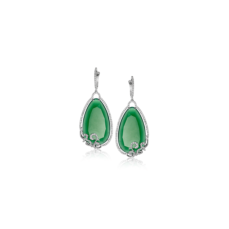 Zeghani ZE600 COLOR EARRING