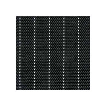 Table Mat - Black Pin-Striped