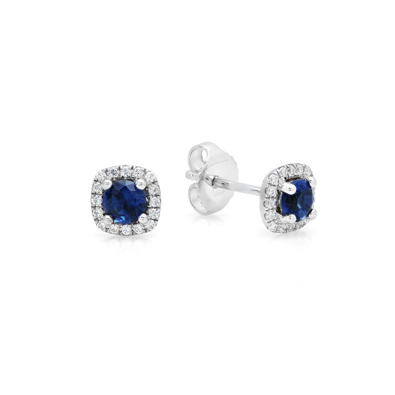 Fana Something Special Sapphire and Diamond Stud Earrings
