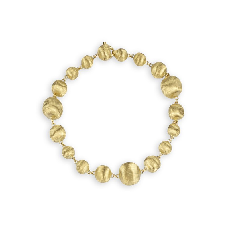 Marco Bicego Africa Gold Mixed Bead Medium Bracelet