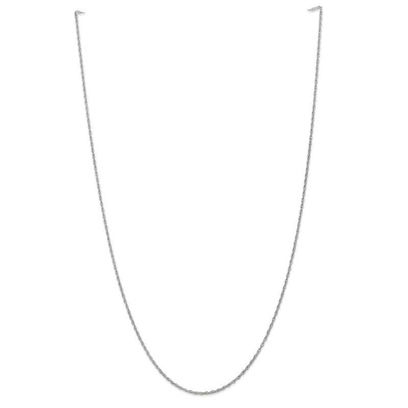 Leslie's Leslie's 14K White Gold 1.5 mm Pendant Rope Chain