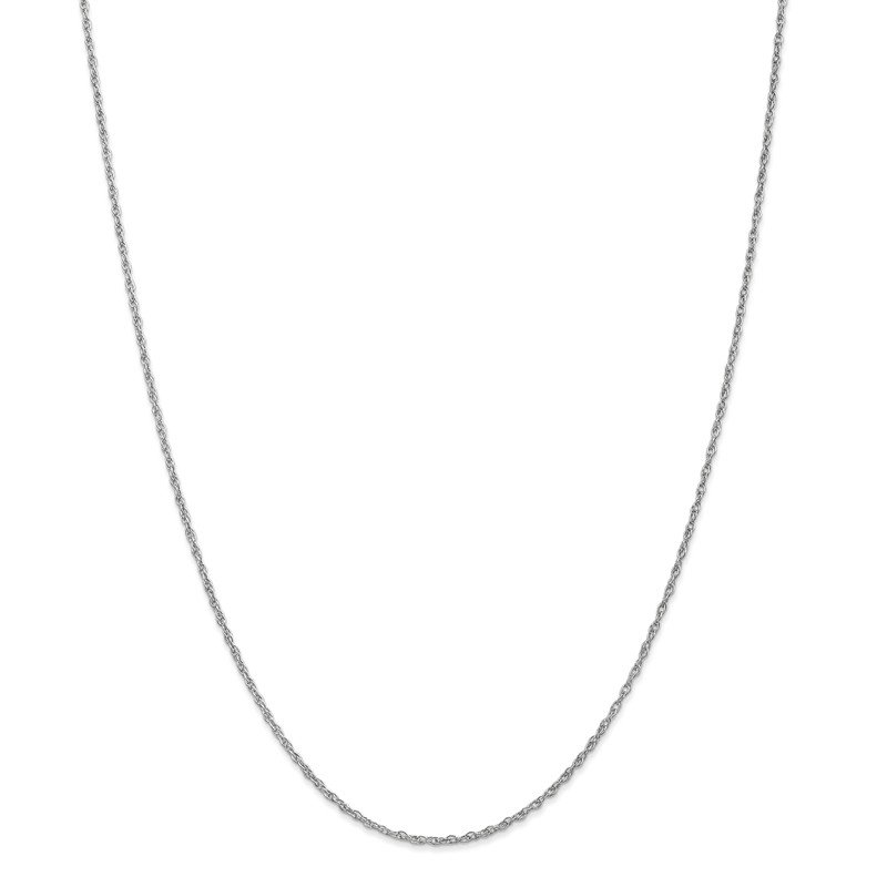 Leslie's 14K White Gold 1.5 mm Pendant Rope Chain