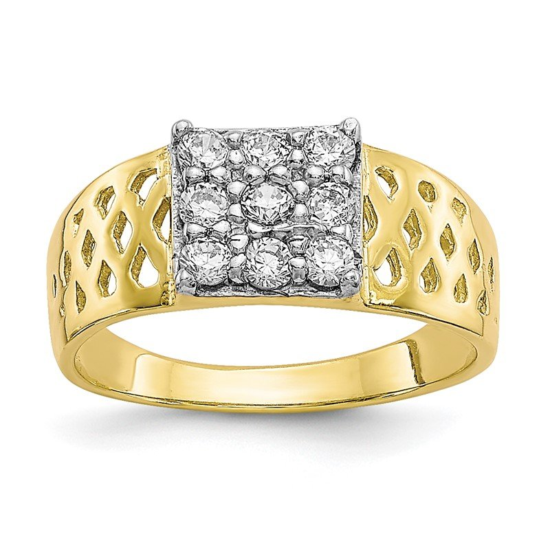 Lester Martin Online Collection 10k CZ Baby Ring
