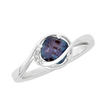 Alexandrite Ring-CR11745WAL