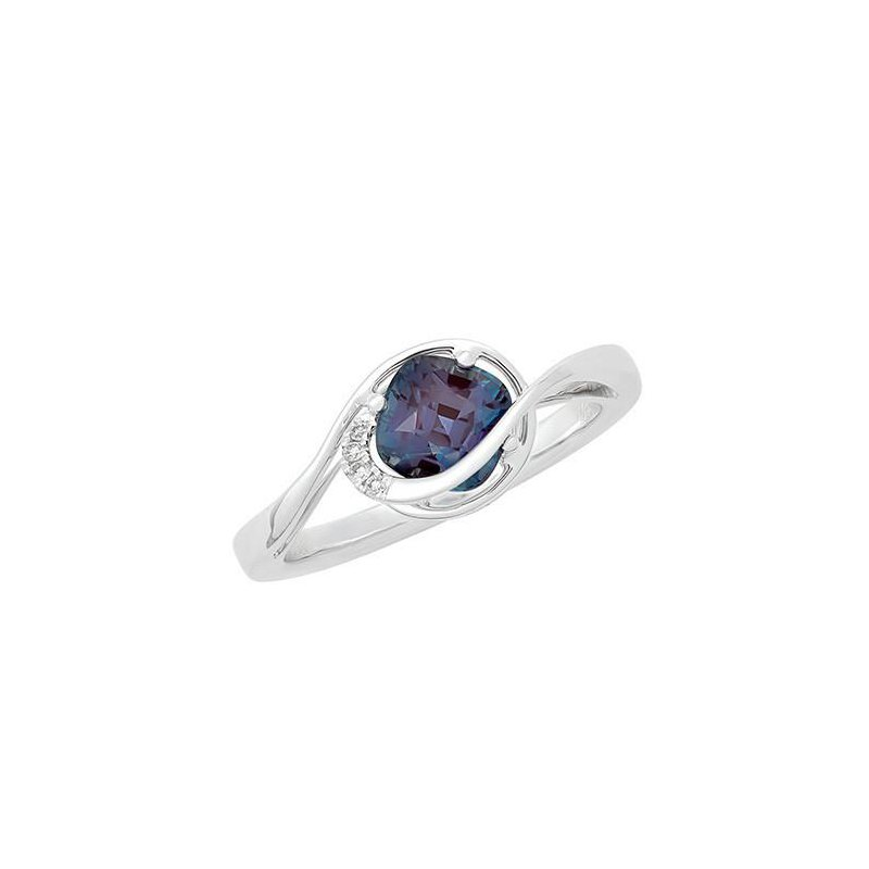 Chatham Alexandrite Ring-CR11745WAL
