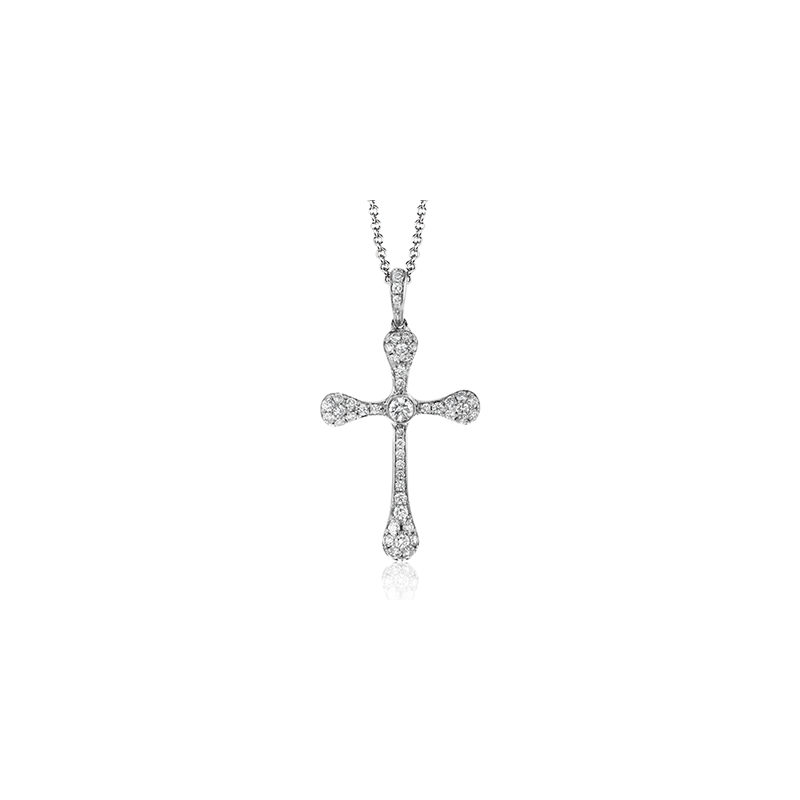 Simon G LP4499 CROSS PENDANT