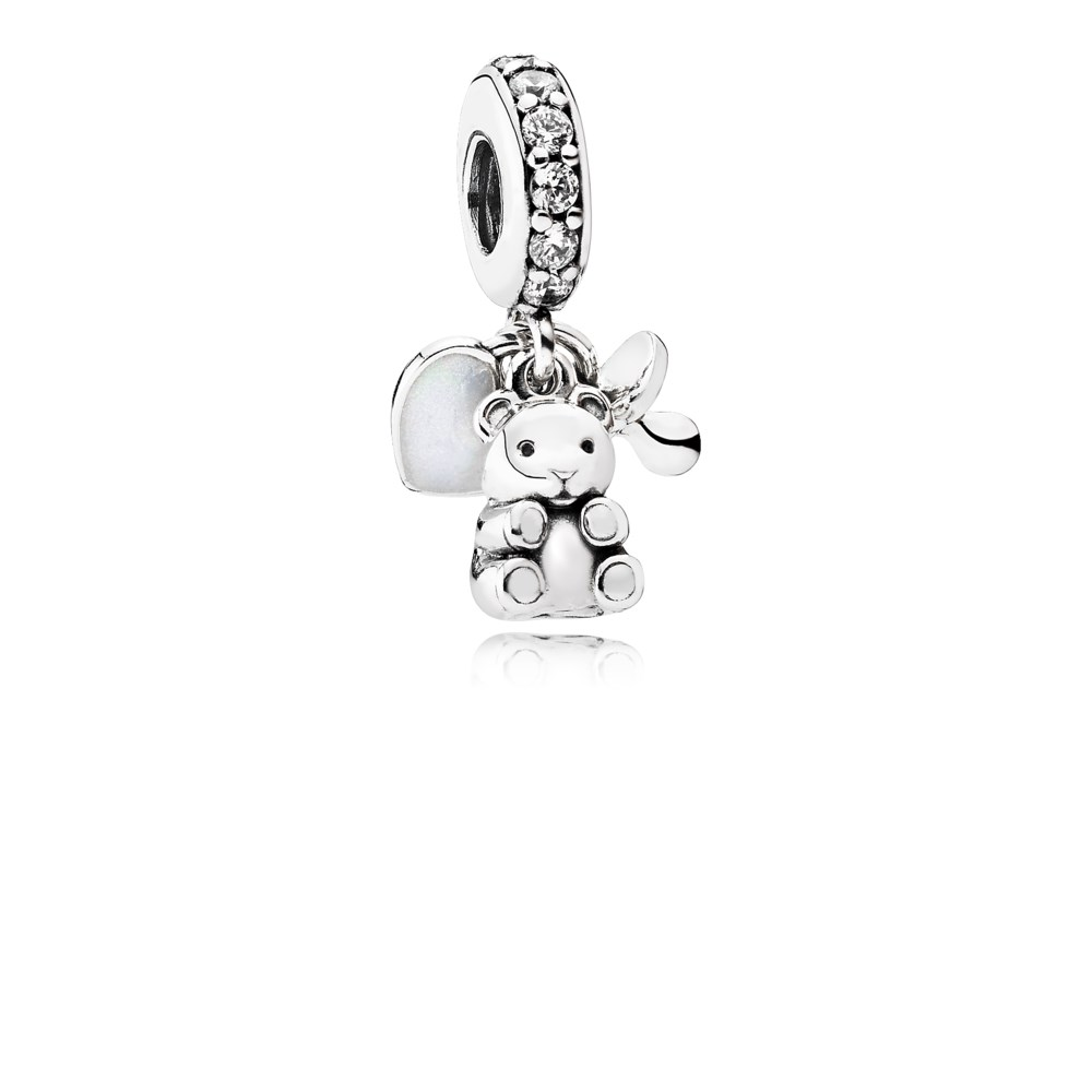 Charms & Charm Bracelets Well-Educated Pandora Silver Teddy Bear Charm Fashion Jewelry