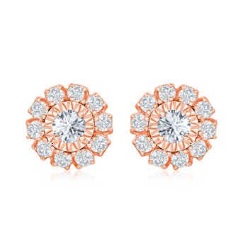 ROUND MIRACLE FLOWER EARRINGS