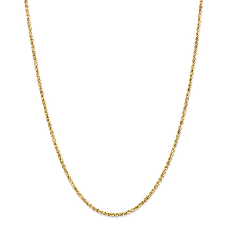 Leslie's Leslie's 14K 2.25mm Solid Regular Rope Chain