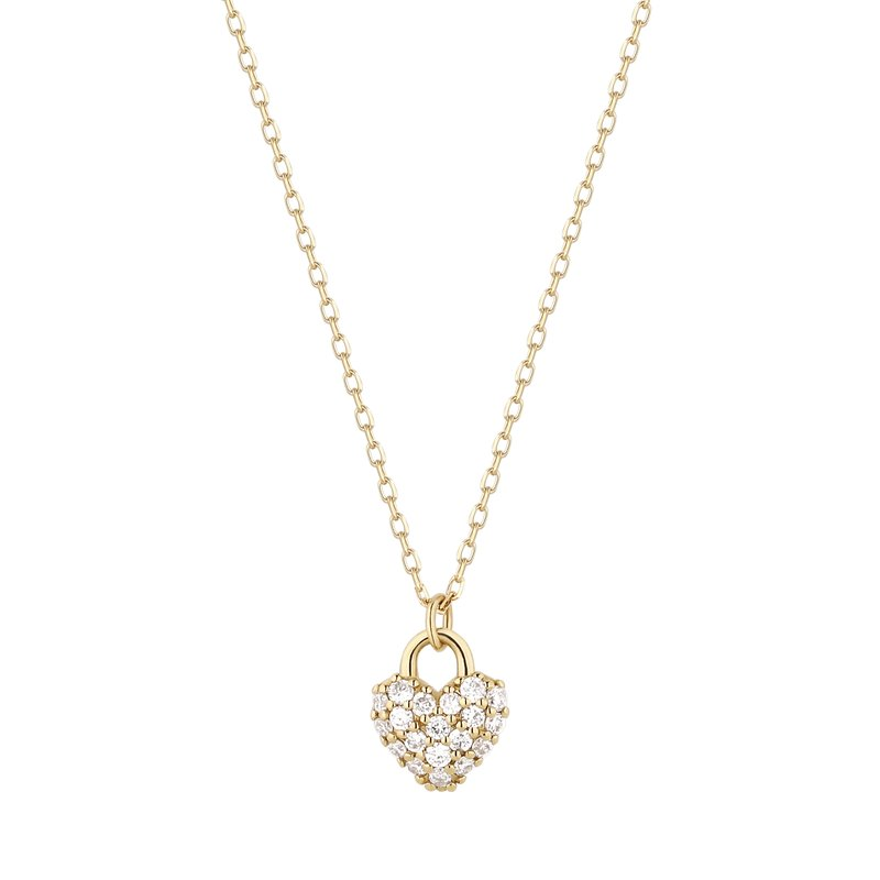 Aurelie Gi BELLA | Diamond Heart Pendant