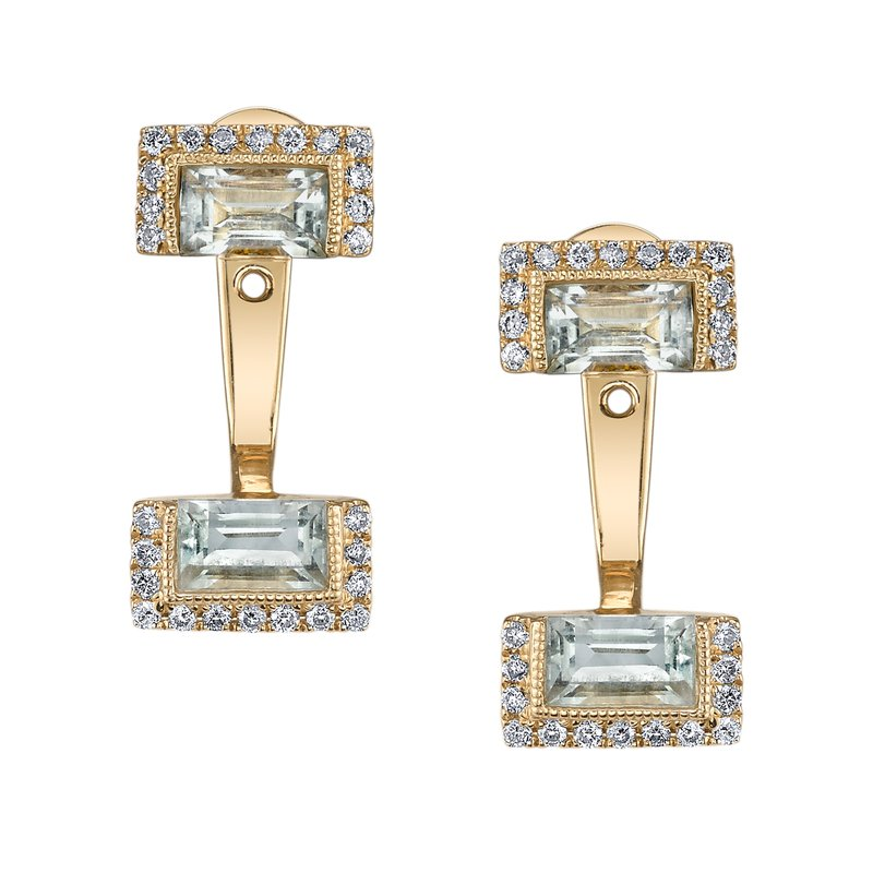 MARS Jewelry MARS 26933 Fashion Earrings, 0.25 Dia. 1.22 G Ameth.