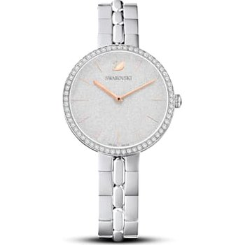 Cosmopolitan Watch, Metal bracelet, White, Stainless steel