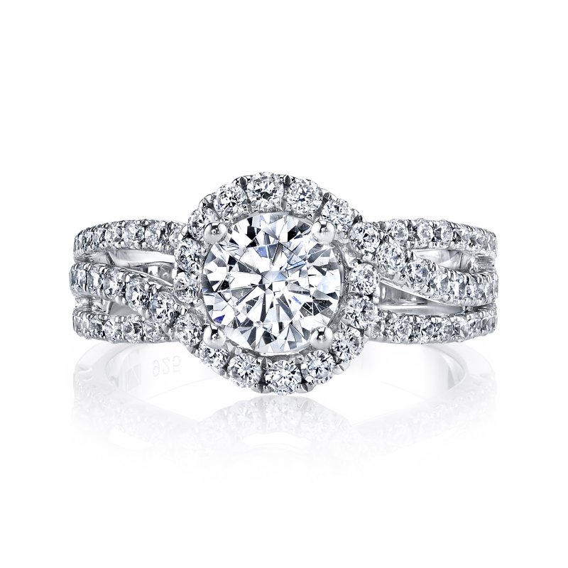 MARS Jewelry MARS 25097 Diamond Engagement Ring 1.02 ct tw