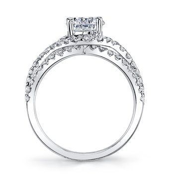 MARS 25097 Diamond Engagement Ring 1.02 ct tw