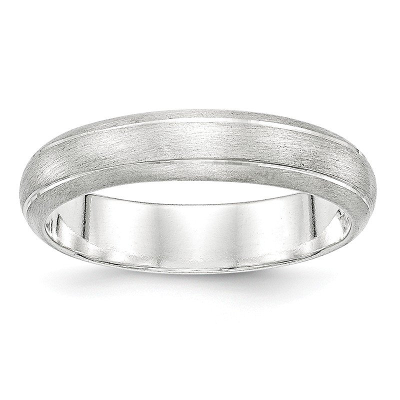 Quality Gold Sterling Silver 5mm Satin Finish Band